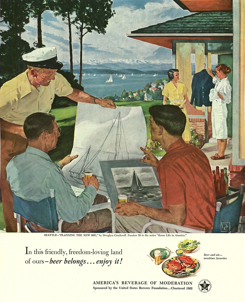 058. Planning the New Rig by Douglass Crockwell, 1951