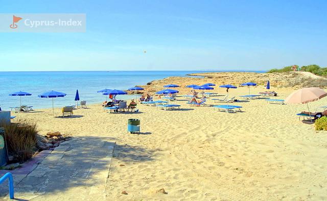 Территория пляжа Аммос Камбури, Айя-Напа, Кипр