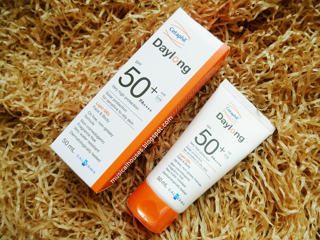 Daylong Sunscreen SPF50 Very High Protection Cetaphil Gel