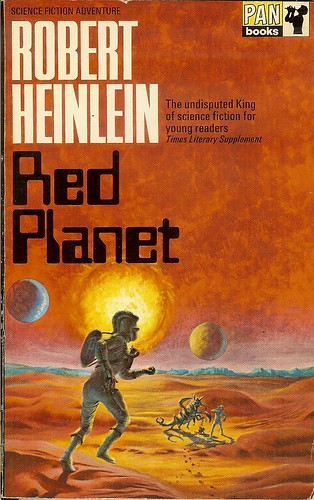 Red Planet - Robert A. Heinlein - cover artist unknown