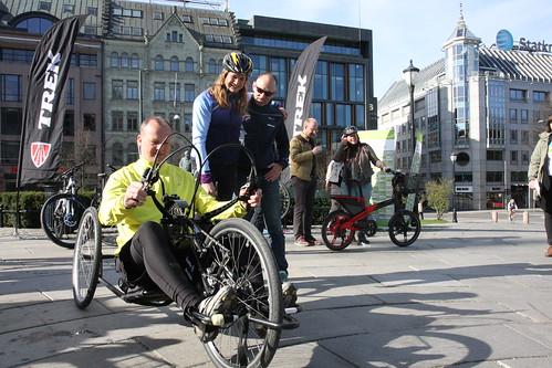Sykle til jobben 2014 | Samferdselsminister Ketil Solvik-Ols ...