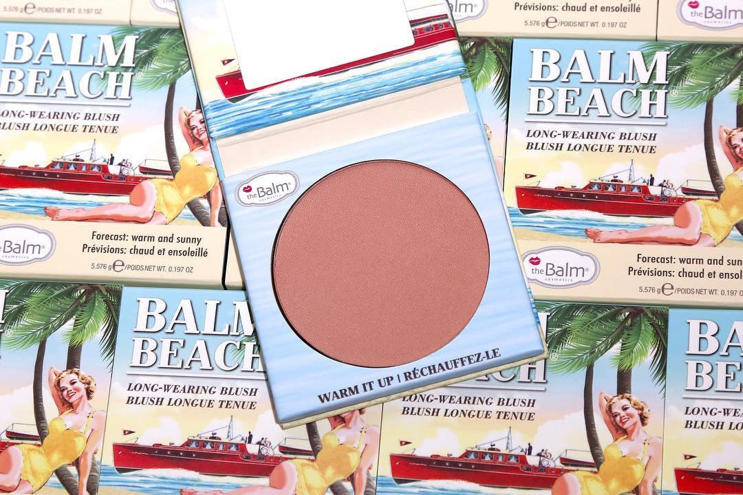 The Balm Balm Beach Blush Swatches