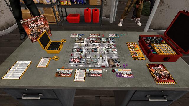 Tabletop Simulator - zombicid