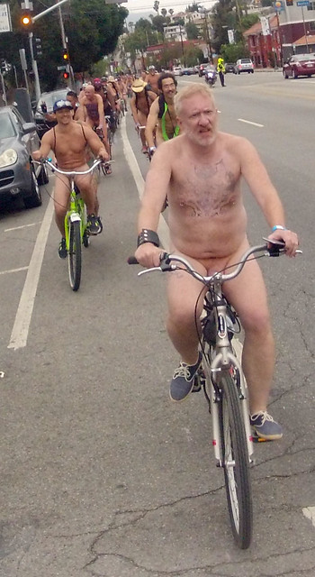 LA World Naked Bike Ride (341)