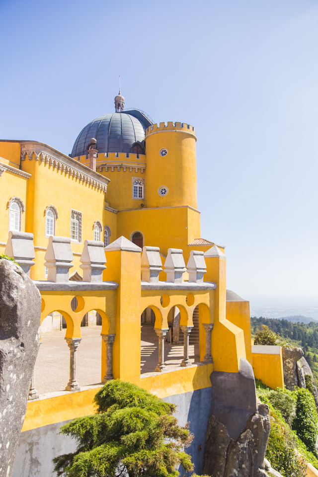 Visiting Palácio da Pena in Sintra, Portugal