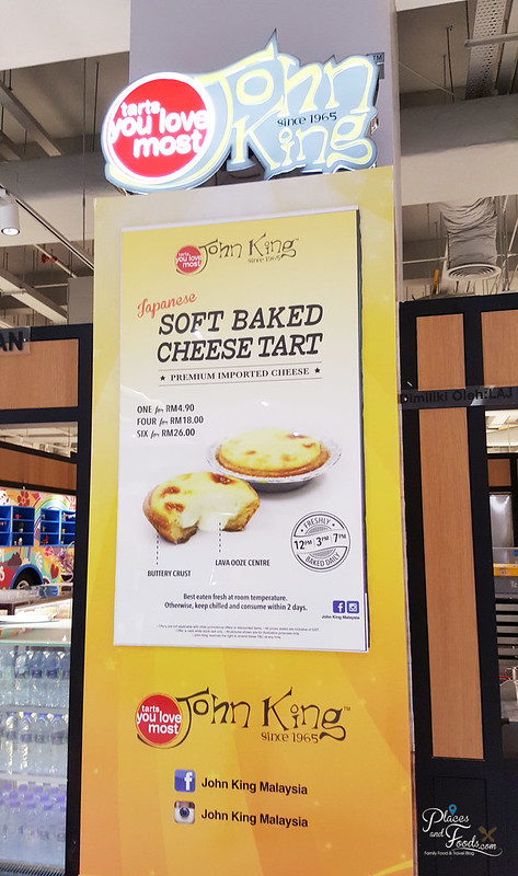 john king baked cheese tart poster