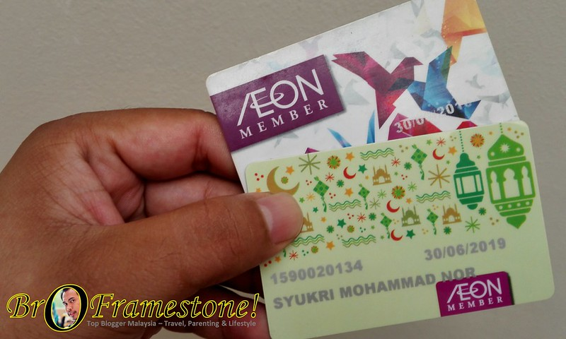 Renew AEON Member Card