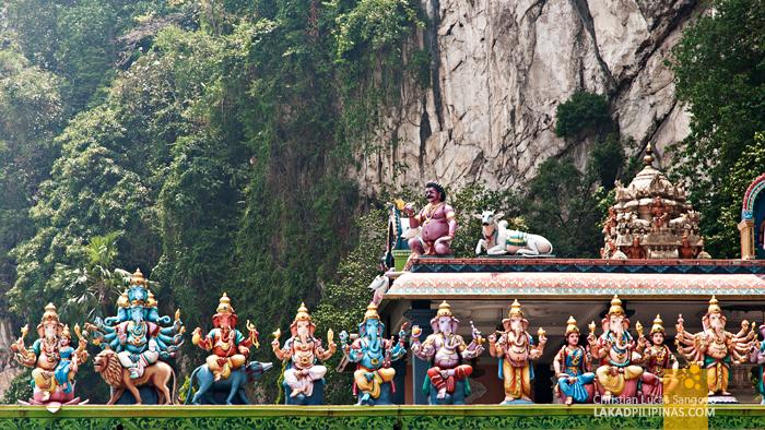 Batu Caves Malaysia Hindu Deities