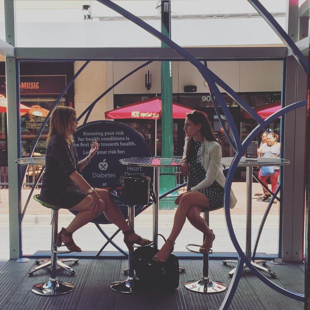 Meeting in a box. Office workers enjoy a sojourn outside the office in OUTBOX, a Silver Spring pop-up #dtss #merrland #md #igdc
