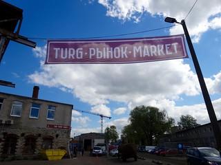 Turg Balti Jaam - Russische markt Tallinn