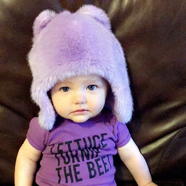 Sisterhood of the traveling fuzzy hat.