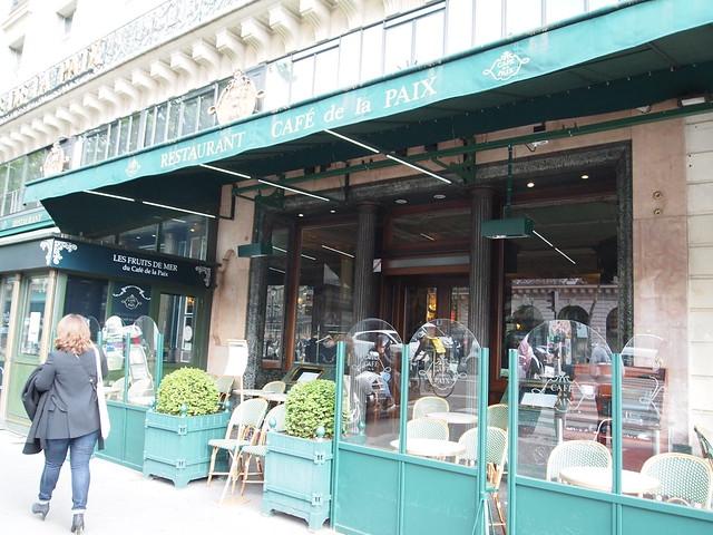P5261286 CAFE de la PAIX(カフェ・ド・ラ・ペー) paris パリ フランス