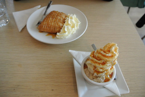 Skyr Crepe and Rugbrød ice cream from Cafe Loki