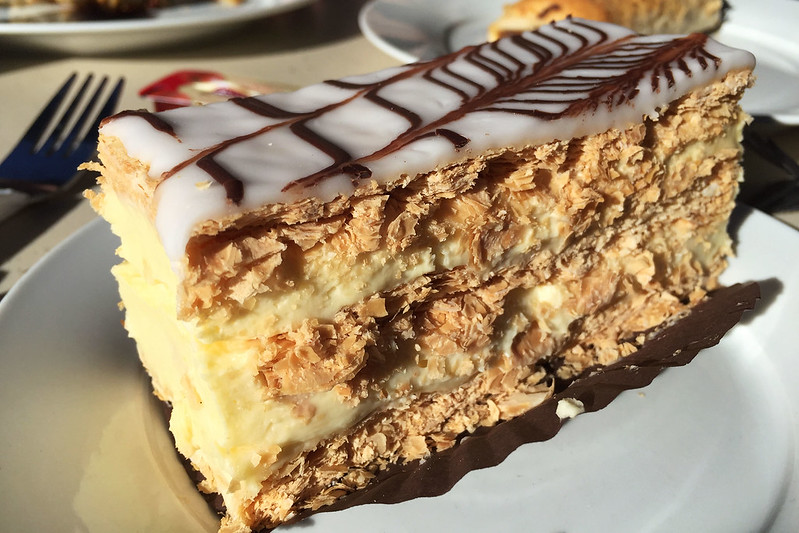 Vanilla slice, Pierre's Patisserie