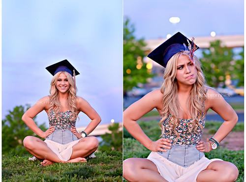 how to take graduation portraits