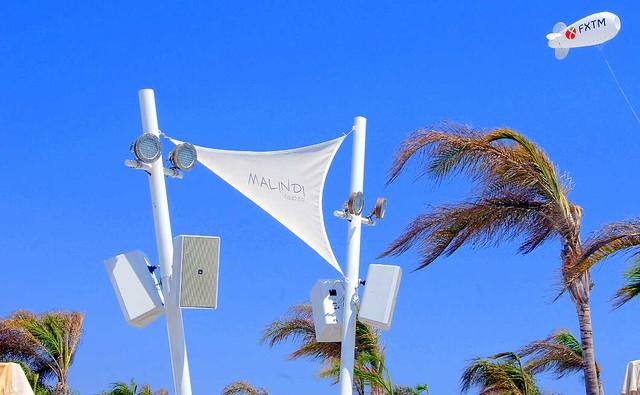 Пляж Малинди Бич Бар. Кипр. Пляжи Лимассола