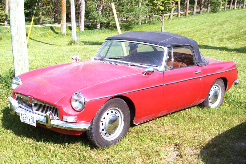 How Much for the Red MGB_