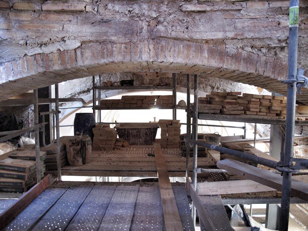 iglesia de santiago lorca_ cúpula_patrimonio_rehabilitación_premio europa nostra