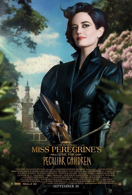 Eva Green is Miss Peregrine