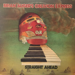 BRIAN AUGER'S OBLIVION EXPRESS:STRAIGHT AHEAD(JACKET A)