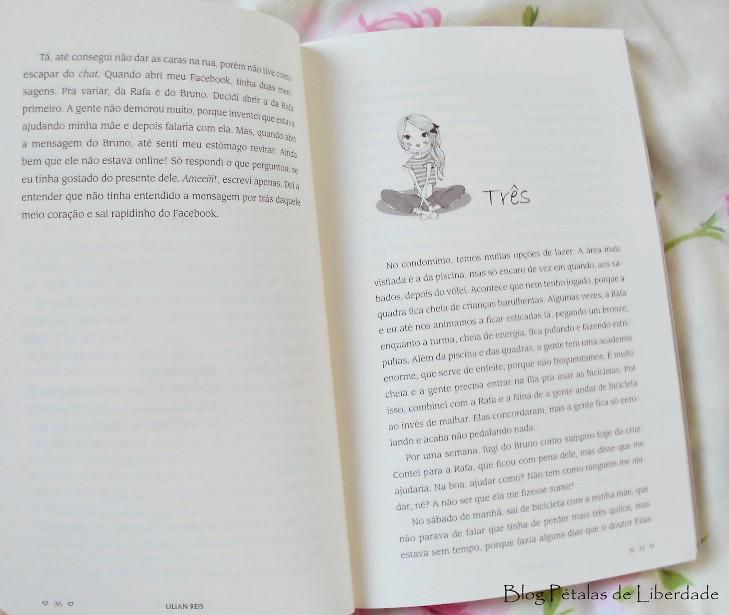 Resenha, livro, A-garota-de-treze, Lilian-Reis, adolescentes, capa, fotos, diagramação
