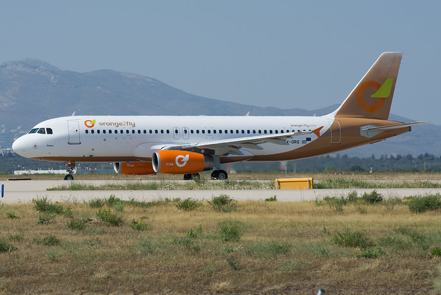 SX-ORG, Orange2Fly, Airbus 320-232, s/n: 1407. Brand new start-up Greek charter airline.