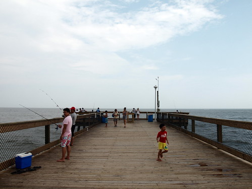 Ocean City Beach 7 Fishing Pier The Fishing Pier At The Flickr