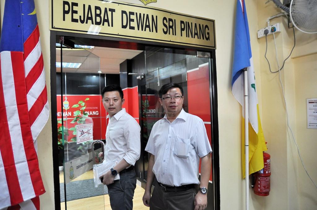 Jason Loo Application A Seminar Room For The Debate With YB Lim Hock Seng (6 Jun 2016)