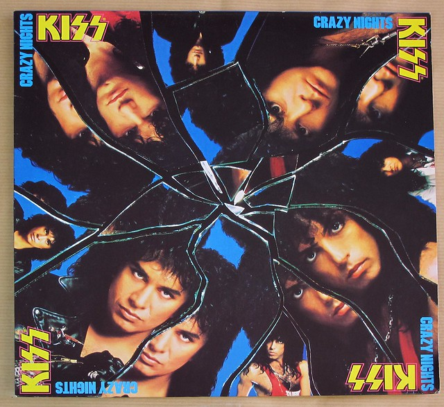 "KISS CRAZY NIGHTS INCL CUSTOM INNER SLEEVE PLAYS PERFECT 12"" LP VINYL"