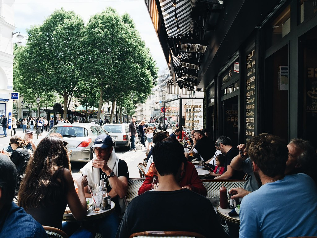 lunch montmatre paris