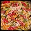 #ZucchiniBlossom #Mushroom #Potato Frittata  #Homemade #CucinaDelloZio - pecorino Romano