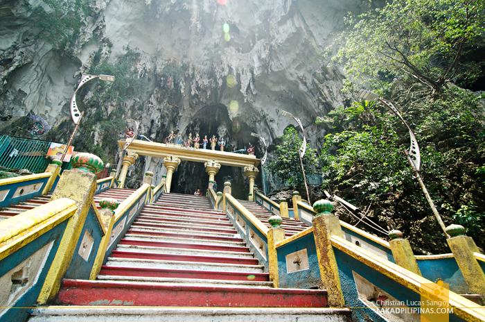 Batu Caves Malaysia Cave Entrance