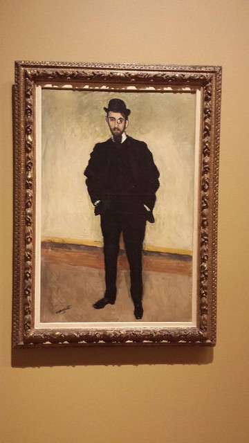 Portrait of Andre Rouveyre Albert Marquet