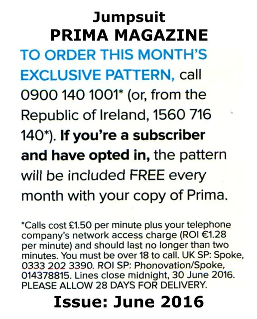 Prima Magazine - Pattern, June 2016 (04)