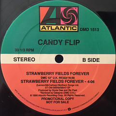 CANDY FLIP:STRAWBERRY FIELDS FOREVER(LABEL SIDE-B)