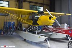 I-GEGE - 1809027 - Aero Club Como - Piper PA-18-150 Super Cub - Lake Como, Italy - 160625 - Steven Gray - IMG_6379