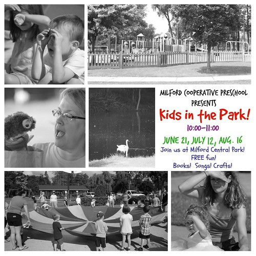 Poster for Kids in the Park