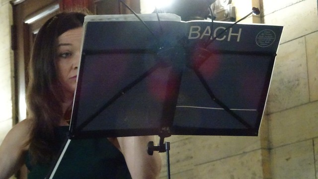 Playing Bach