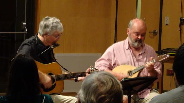 Guitar Mandolin and Harmonica