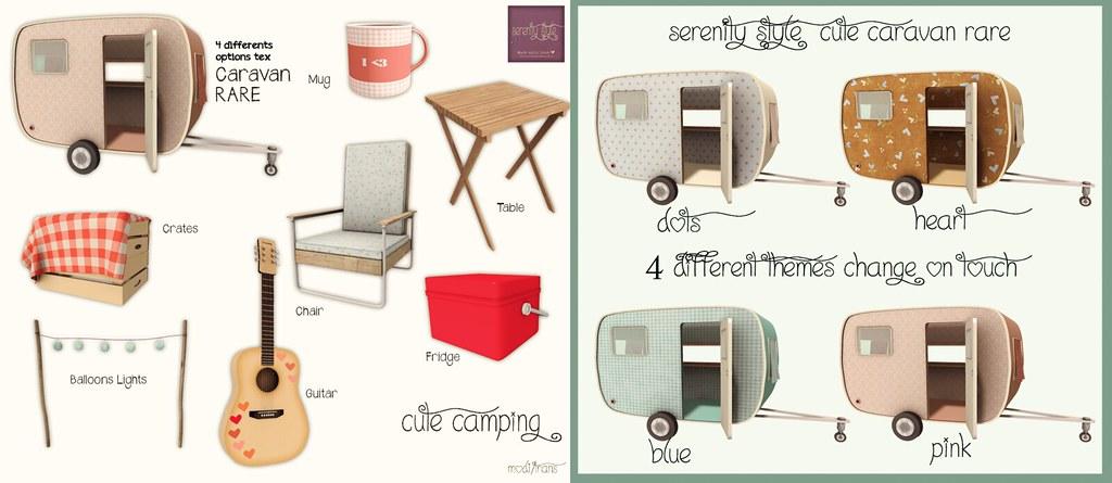 Serenity Style- Cute Camping Gacha Key
