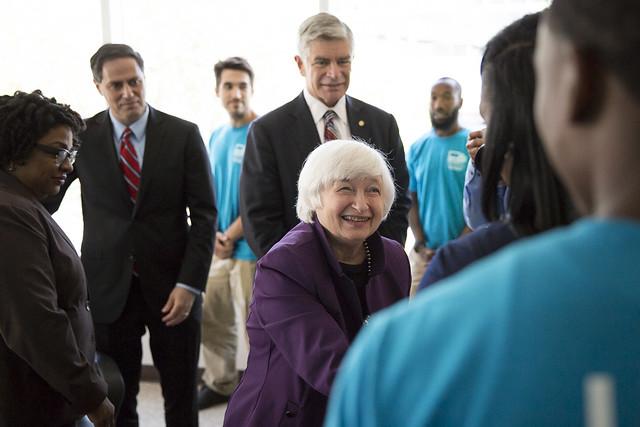 Janet Yellen Visit
