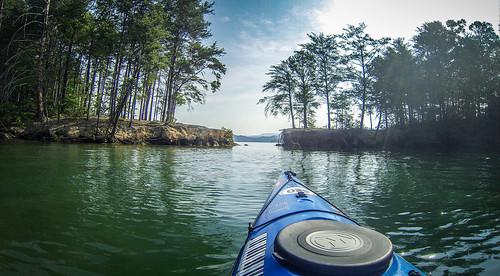 Lake Jocassee Kayaking-40