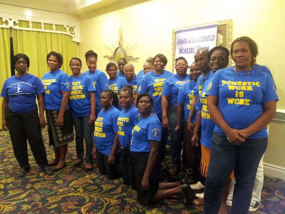 2016-6-16 Jamaica: JHWU celebration for IDWD