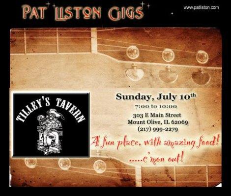 Pat Liston 7-10-16
