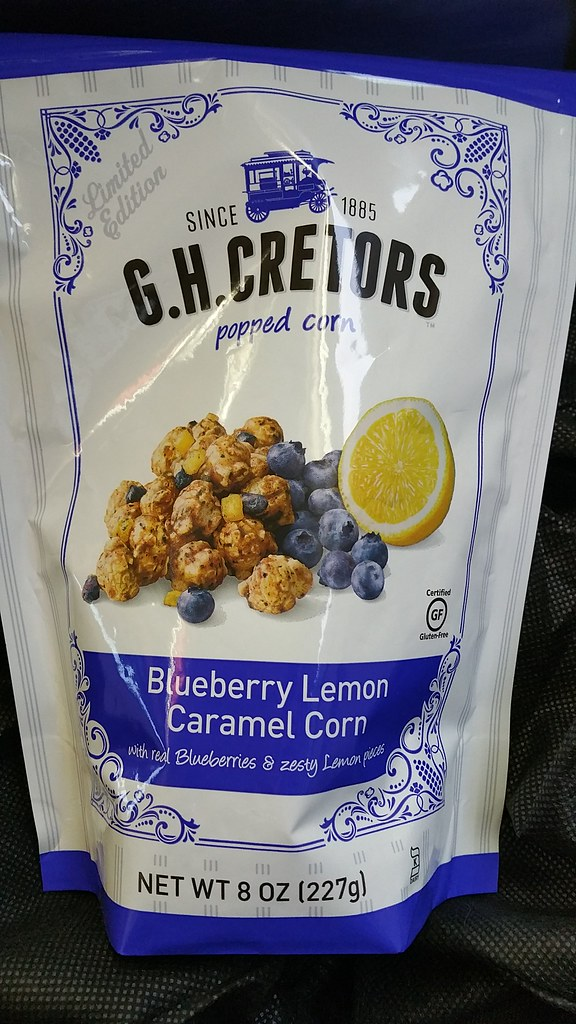 G.H. Cretors Blueberry Lemon Caramel Corn