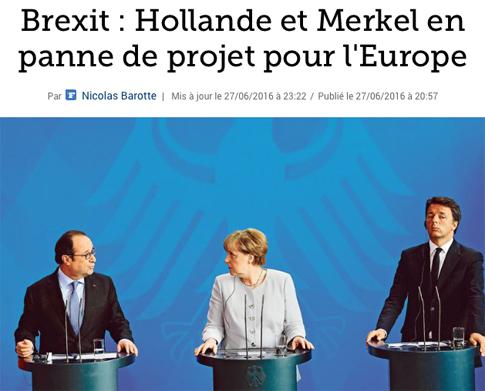 16f28 LFigaro Hollande y Merkel sin proyecto Europa