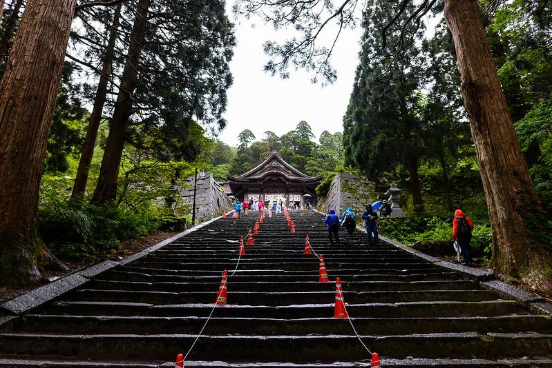 大山夏山開き祭 2016.6-2