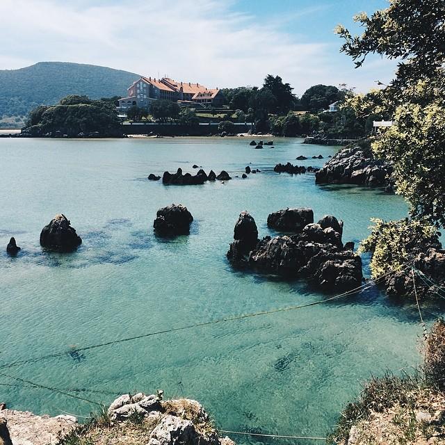 #vscocam el Caribe en Isla #cantabria #arnuero #isla