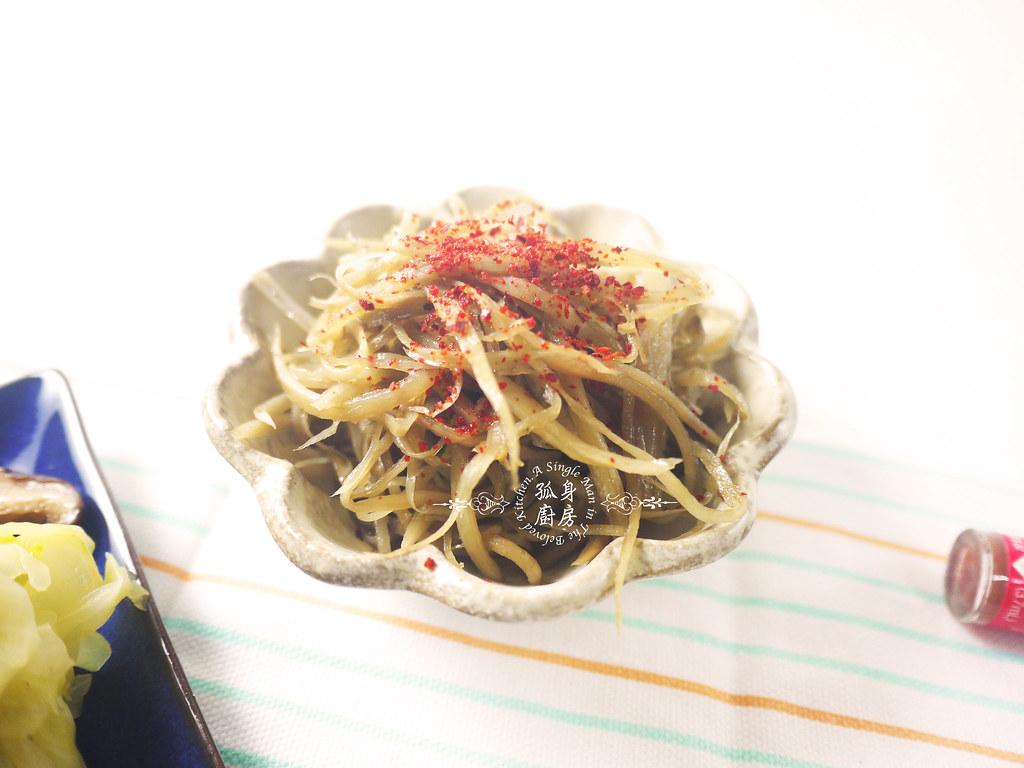 孤身廚房-日式綜合菇炊飯佐牛蒡絲3