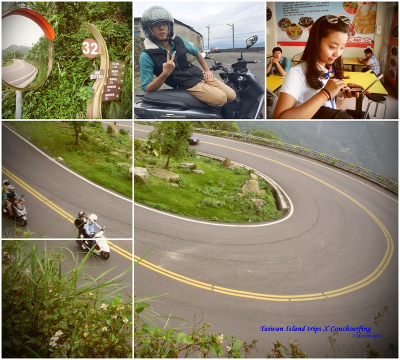 Taiwan Island trips X Couchsurfing。嘉151鄉道隨拍。太平36灣 (1)